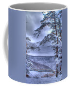High Mountain Fence Coffee Mug