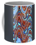 High Rise Abstract Phoenix Coffee Mug
