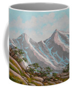 High Sierras Study IIi Coffee Mug