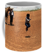 High Steppin Cowboy Coffee Mug