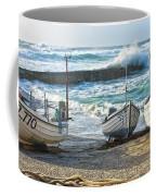 High Tide In Sennen Cove Cornwall Coffee Mug