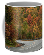 High Walls Of Fall Colors Coffee Mug