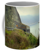 Highway 1 At Lucia South Of Big Sur Ca Coffee Mug