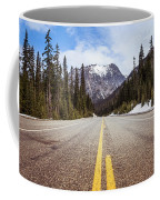 Highway 20 On Rainy Pass In North Cascades National Park Coffee Mug
