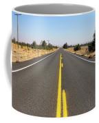 Highway In Central Oregon Coffee Mug