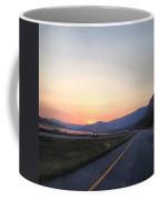 Highway Sunset Coffee Mug