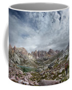 Hiker At Twin Lakes - Chicago Basin - Weminuche Wilderness - Colorado Coffee Mug