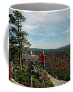 Hiker In Acadia National Park Coffee Mug