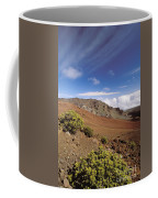 Hikers Inside Haleakala  Coffee Mug