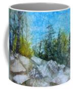 Hiking In Montana Coffee Mug