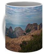 Hiking In Montserrat Spain Coffee Mug