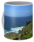 Hiking Path Along The Top Of The Cliff's Of Moher Coffee Mug
