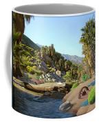 Hiking The Canyons Coffee Mug