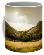 Hills And Fields Of Trial Harbour Coffee Mug
