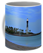 Hillsboro Lighthouse Twilight Time Coffee Mug