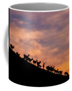 Hillside Elk Coffee Mug