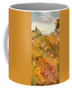 Hillside Flowers I Coffee Mug