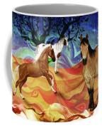 Hillside Horses Coffee Mug