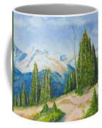 Hillside In Spring, 9x12, Oil, '07 Coffee Mug