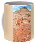 Hillside Of Color In Valley Of Fire Coffee Mug