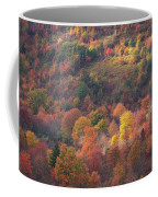 Hillside Rhythm Of Autumn Coffee Mug