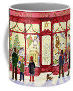 Hilltop Toys And Games Coffee Mug by Lavinia Hamer