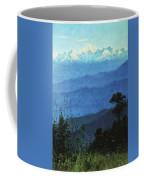 Himalayas In The Evening 1875 Vasily Vereshchagin Coffee Mug