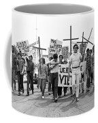 Hispanic Anti-viet Nam War March 1 Tucson Arizona 1971 Coffee Mug