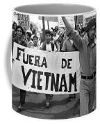 Hispanic Anti-viet Nam War March 2 Tucson Arizona 1971 Coffee Mug