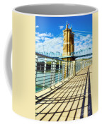 Historic Bridge In Cincinnati Coffee Mug by Mel Steinhauer