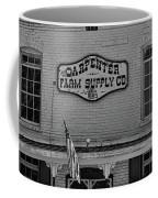 Historic Carpenter Farm Supply Sign Coffee Mug