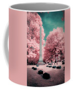Historic Cemetery In Infrared Coffee Mug