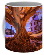 Historic Fermin Point Lighthouse In Infrared Coffee Mug