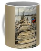 Historic Fishing Pier In Portugal I Coffee Mug