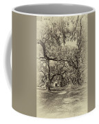 Historic Lane Antique Sepia Coffee Mug