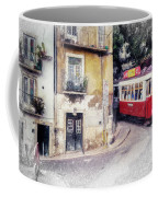 Historic Lisbon Tram Coffee Mug