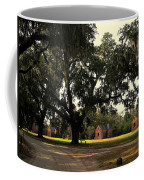 Historic Slave Houses At Boone Hall Plantation In Sc Coffee Mug