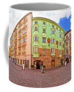 Historic Street Of Innsbruck Panoramic View Coffee Mug