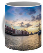 Historic Town Of Bremen With Weser River Coffee Mug