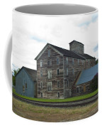 Historical Barron Wheat Flour Mill In Oakesdale Wa Coffee Mug