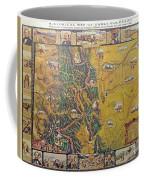 Historical Map Of Early Colorado Coffee Mug