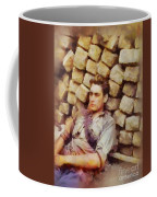 History In Color. French Resistance Fighter, Wwii Coffee Mug