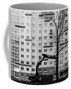 Hitachi Digger Destroys A Tree Coffee Mug
