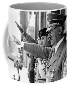 Hitler And Italian Count Ciano Chancellory Berlin 1939 Coffee Mug