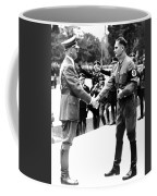 Hitler Shaking Hands With Rudolf Hess Circa 1935 Coffee Mug