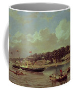 Hm Yacht Victoria Coffee Mug by George Gregory