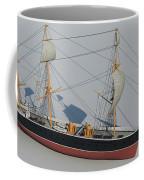 Hms Warrior 1860 - Bow To Stern Technical Coffee Mug