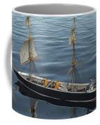 Hms Warrior 1860 - Stern To Bow Ocean Coffee Mug