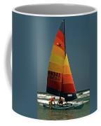 Hobie Cat In Surf Coffee Mug