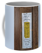 Hobo Coffee Mug